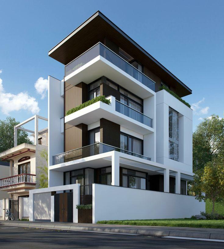 Modern House Bungalow Exterior By Sagar Morkhade Vdraw: Pin De Fede Mejia En Casa Playa