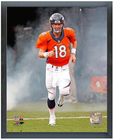 "Peyton Manning 2013 Denver Broncos - 11"" x 14"" Photo in a Glassless Sports Frame"