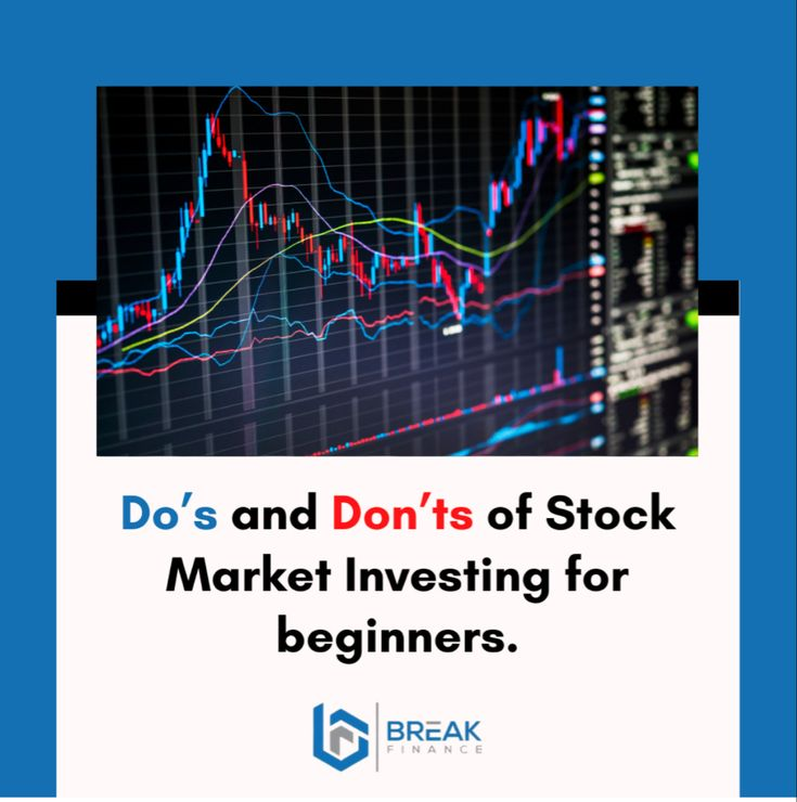 Do's of Stock Market Investing 1. Get an education 2. Start small 3. Get started early 4. Research before investing 5. Only invest what is surplus: 6. Have an investment goal 7. Build a stock portfolio 8. Average out: 9. Diversify 10. Invest for the long-term 11. Hold the winners, cut the losers 12. Invest consistently 13. Have Patience #ethereum #bitcoin #cryptocurrency #blockchain #crypto #btc #litecoin #bitcoinmining #eth #bitcoins #trading #money #forex #bitcoinnews #cryptocurrencies #inv