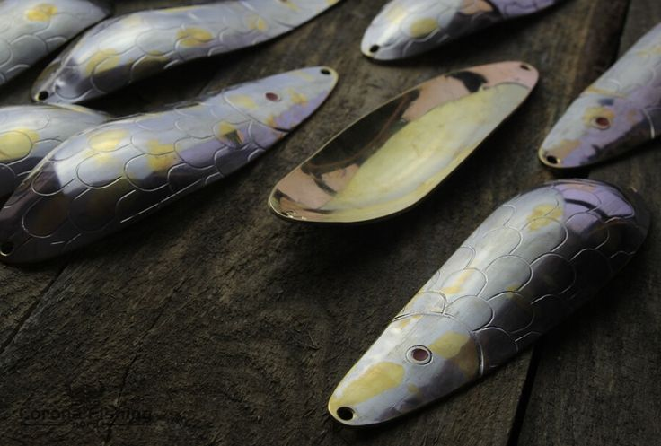 Big Foka - Big handmade spoon lure for large pike. Perfect for shallow fisheries and drop shotting. #fishing #spoon #lure #handmade