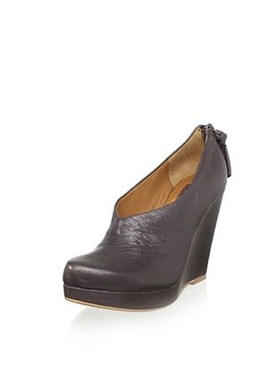 Ella Moss Women's Ellie Wedge Bootie (Steel)