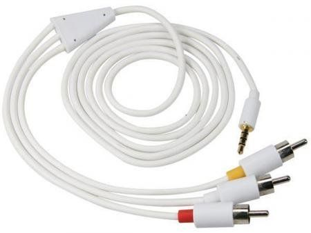 AV-Kabel Set Voor Ipod