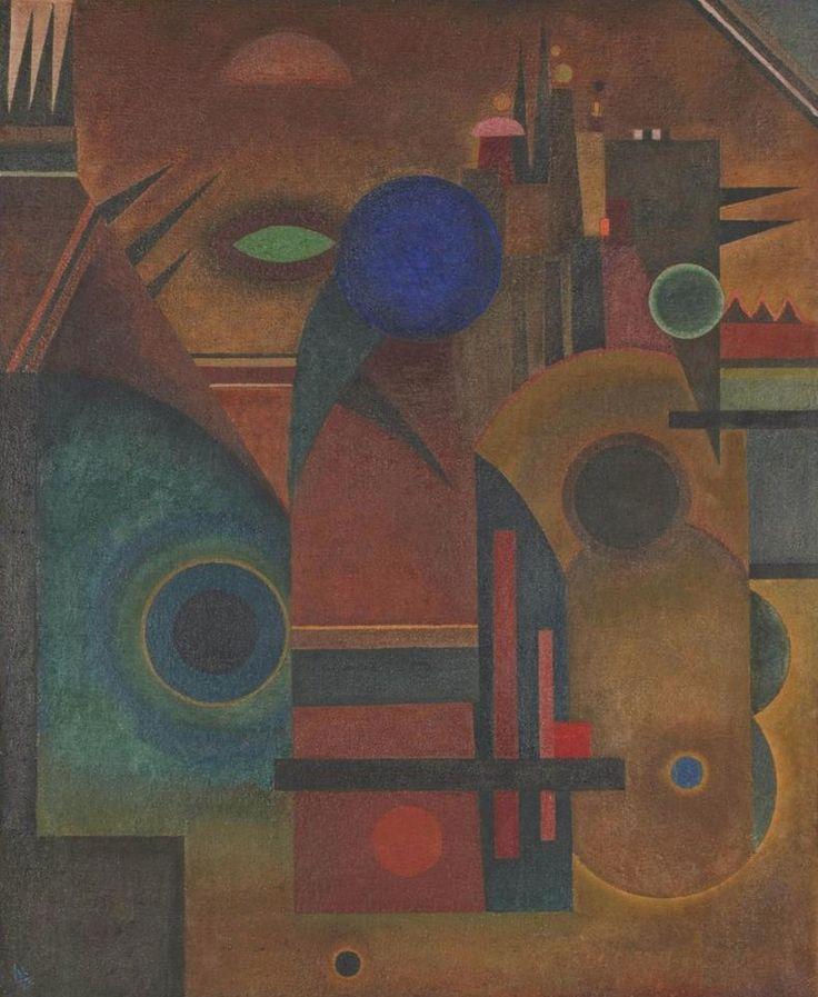 Wassily Kandinsky - Brown Silence, 1925