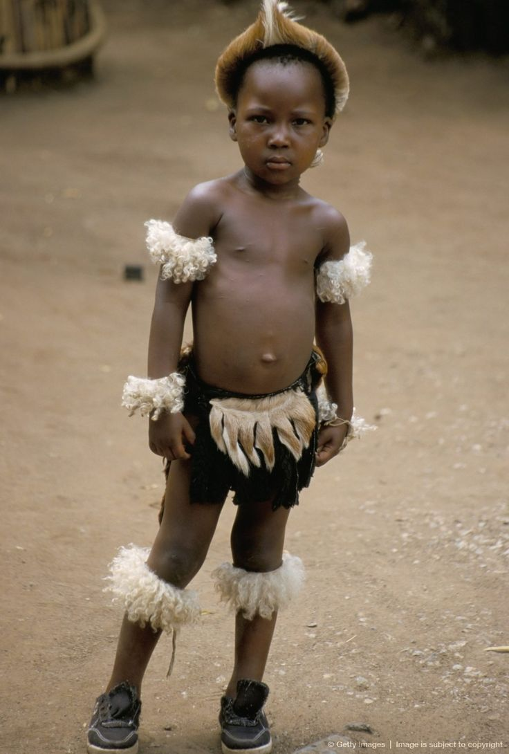 Zulu boy, Zulu village, Zululand, South Africa, Africa