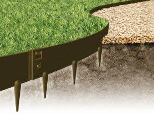 Shop - EverEdge - flexible metal garden edging and steel raised beds. Ideal for lawns, landscape gardens, paths, flower beds and vegetable growing