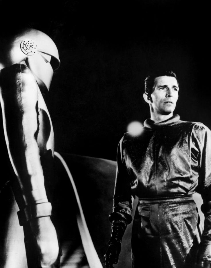 Michael Rennie as Klaatu---1951   The Day The Earth Stood Still.....