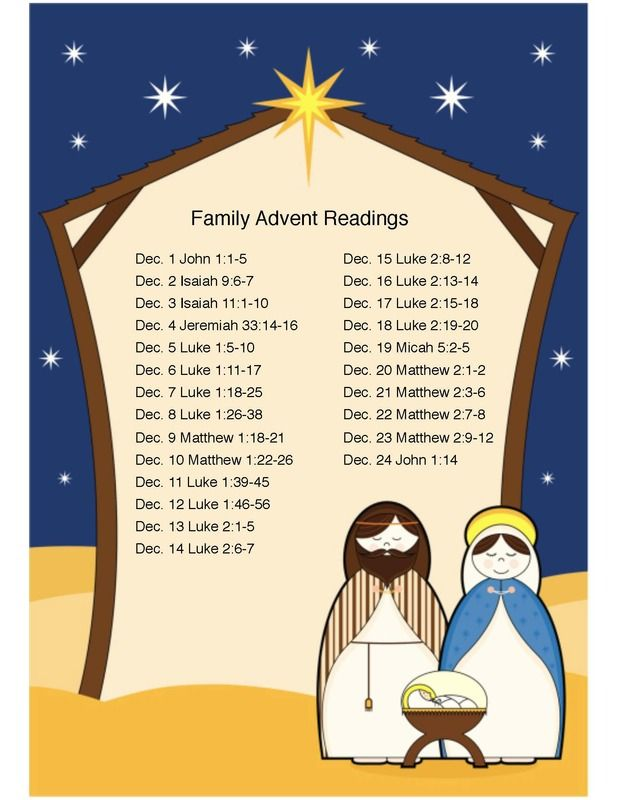 daily scripture readings for advent for the family. Black Bedroom Furniture Sets. Home Design Ideas