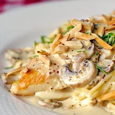 dijon chicken pasta