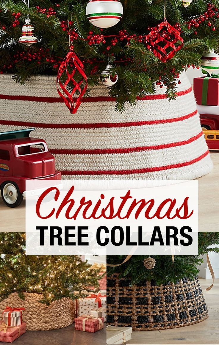Christmas Tree Collars And Baskets Tree Collar Holiday Tree