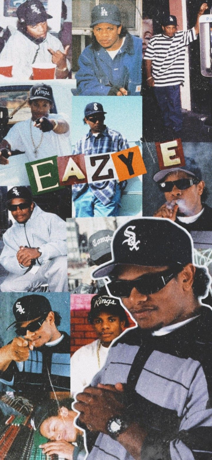 Eazy E Wallpaper Hip Hop Poster Hip Hop Artwork Hip Hop Classics