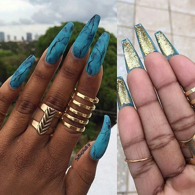 25+ Best Ideas About Long Acrylic Nails On Pinterest
