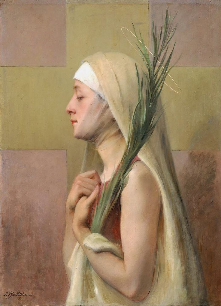Une Martyre Sainte Thechla (1891), Sarah Paxton Ball Dodson