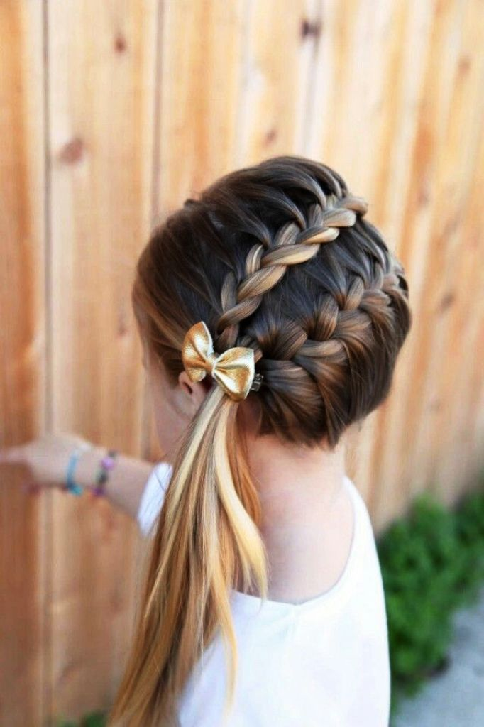 20 Amazing Double Braid Hairstyle Ideas To Try Instaloverz Hair Styles Girl Hair Dos Kids Hairstyles