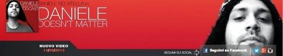 Daniele, star italiana di YouTube, comunica nella sua copertina la data esatta della pubblicazione del suo nuovo video. http://www.tuttosuyoutube.it/nuovo-canale-di-youtube-creare-la-grafica-per-lheader/ #youtube #youtubemarketing #video #graphics #design #ispiration
