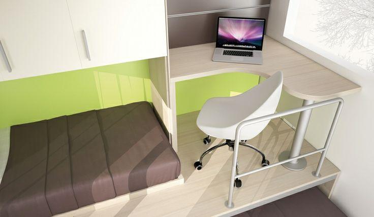 BADROOM - centri camerette specializzati in camere e camerette per ragazzi - cameretta con letti ...