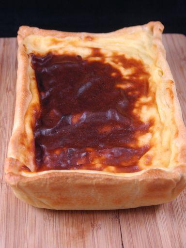 Flan pâtissier traditionnel (custard in pastry tart)