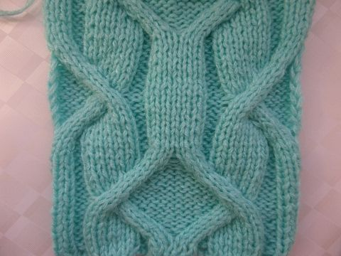 Ирландский узор Часть 1/3 Узор -аран. Вязание спицами. Knitting(Hobby) - YouTube