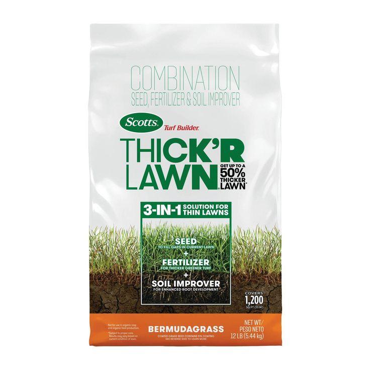 Scotts Thick'R Lawn Bermuda Grass Mix Bermuda grass