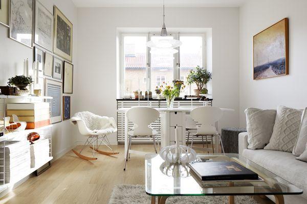 małe mieszkanie,47m w stylu skandynawskim,jak urządzic małe mieszkanie