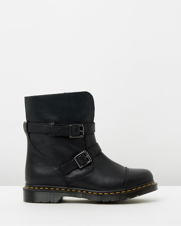 Dr Martens Kristy Slouch Rigger Boots $269.00