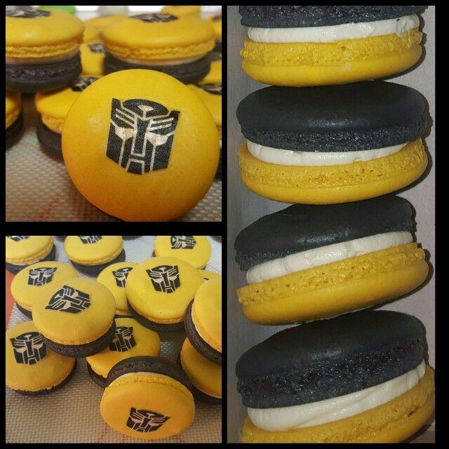 Transformers Bumblebee Macarons