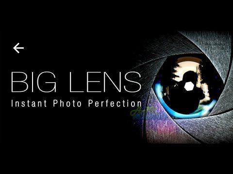 Big Lens - Como usar para desfocar fotos!