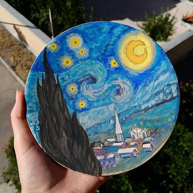نقاشی ستاره هشت پر