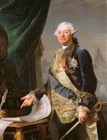 Louis Charles Auguste le Tonnelier, Prime Minister of France, ca. 1778 (François-Guillaume Ménageot) (1744-1816) Musée du Louvre, Paris