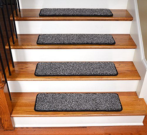 Best Washable Non Skid Carpet Stair Treads Silvered Sky 13 400 x 300