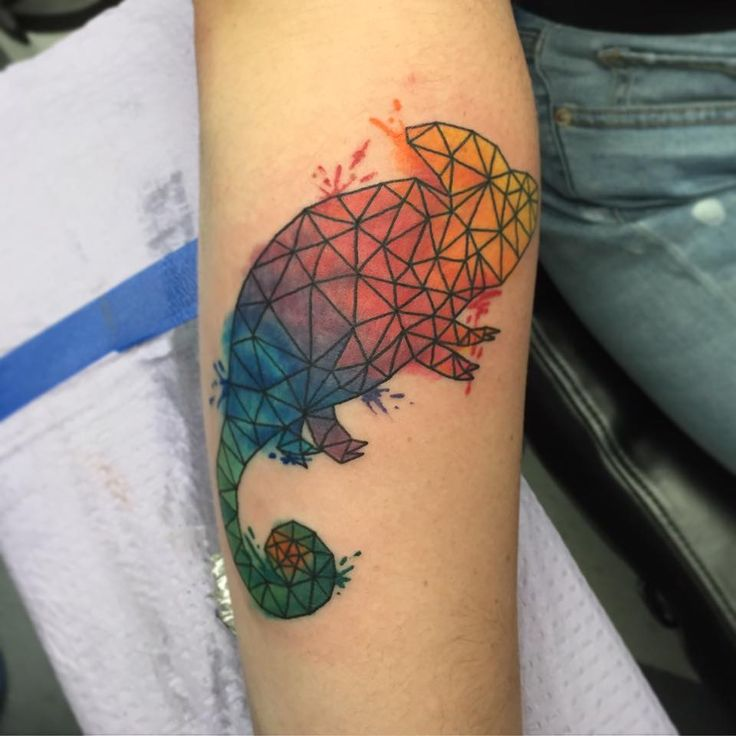 Chameleon Watercolor Tattoo: 62 Best Images About Tattoos On Pinterest