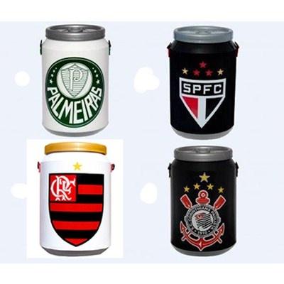 Cooler térmico 12 latas times de futebol. R$132.62