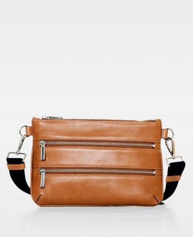 DECADENT Belt bag cognac