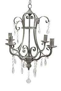 This Mr Price Home WROUGHT IRON CHANDELIER would make my bathroom an elegant space.