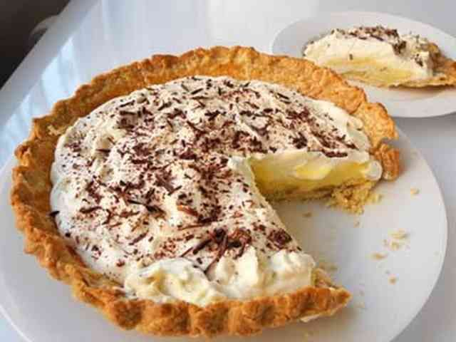 アメリカ風★バナナクリームパイ