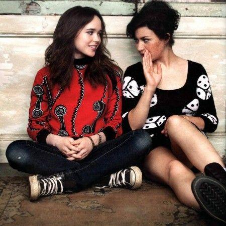 Ellen Page and Alia Shawkat