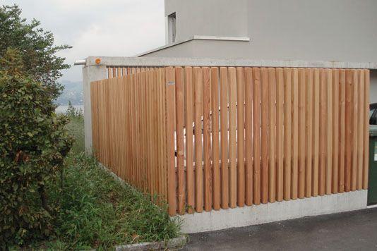 Terrasse Sichtschutz von Pletscher + Co. AG.