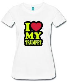I Love My Trumpet W