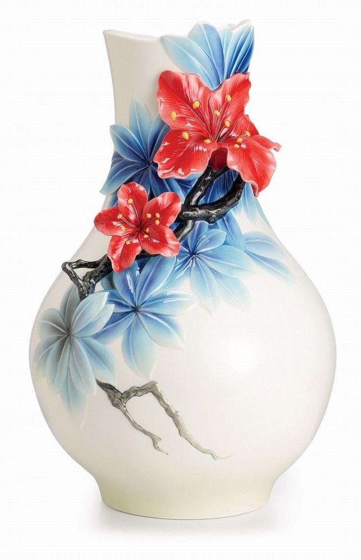 170 best franz porcelain images on pinterest fz02521 azalea large vase franz porcelain exclusive of our store flower design ebay reviewsmspy