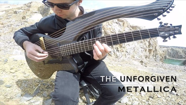Liked on YouTube: The Unforgiven - Metallica - Harp Guitar Cover - Jamie Dupuis