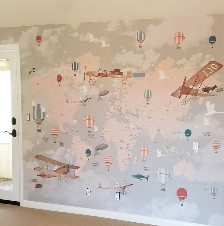 The 25 best kids room wallpaper ideas on pinterest room for Children mural wallpaper