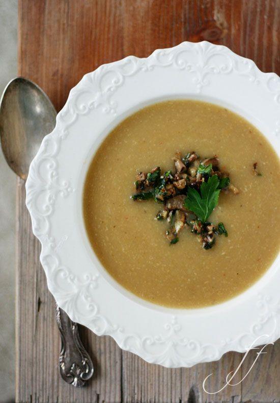 Zuppa patate e porcini