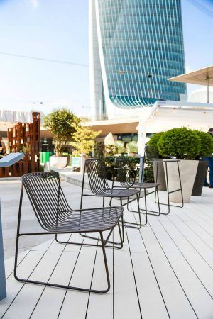 EXTERIOR I OUTDOOR FURNITURE I EMU Presents Recyclable Collection Enchanting Outdoor Commercial Furniture Exterior