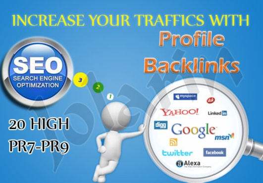I will create [Panda Penguin] Updates Safe Backlinks on 20 PR9 High Quality links Back for $5. For more information, please visit http://fiverr.com/daraknaka/create-18-high-quality-backlinks-from-pr9-authority-sites-and1000wikislinks on Fiverr