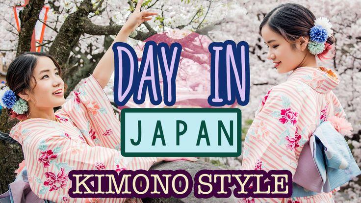 KimDao wears a kimono and spends a day in Kanazawa