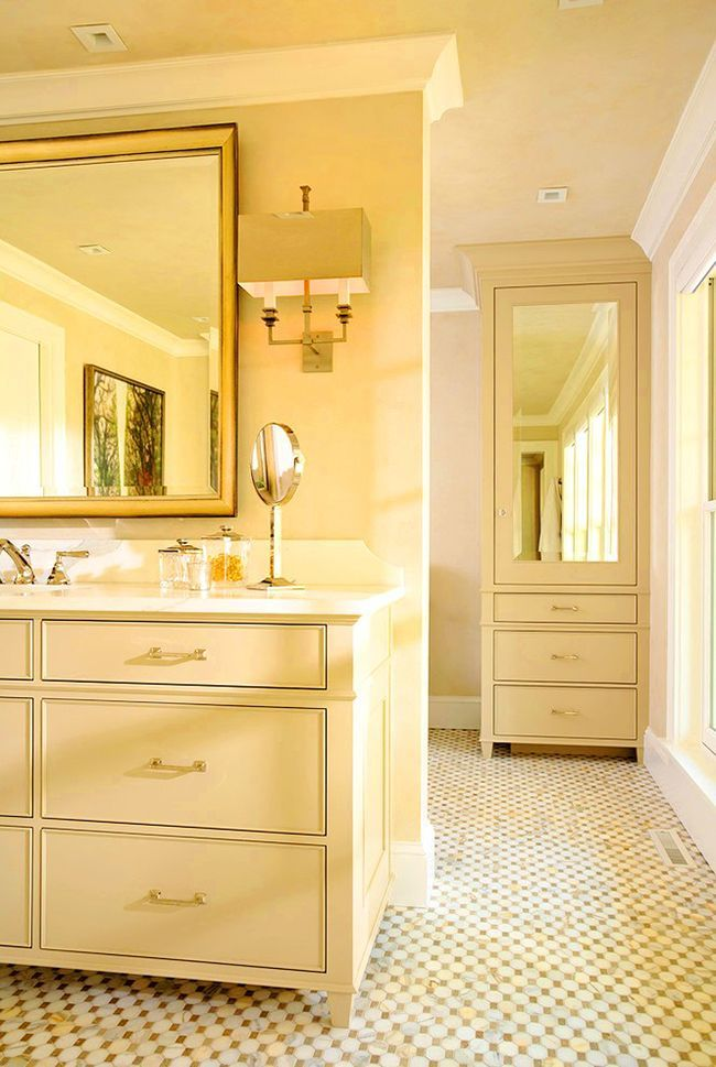 Bathroom cabinets how to combine practicality and aesthetics photo 13
