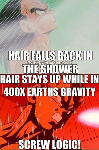 The power of water, lol. (Anime logic...)