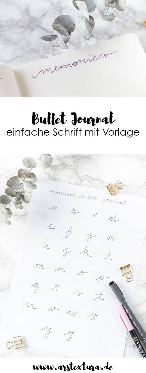 Bullet Journal Set-up für Eilige mit Video-Anleitung