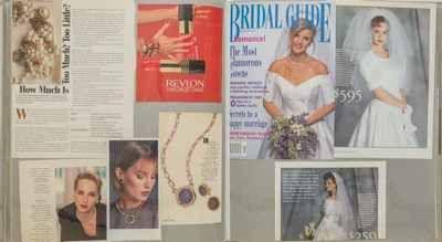 #CINER #bracelets featured in an advertisement, #Revlon - 1993.