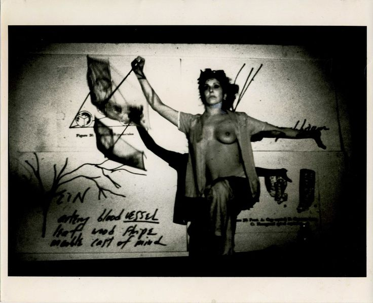 Carolee Schneemann, Fresh Blood - A Dream Morphology, 1983, P.P.O.W