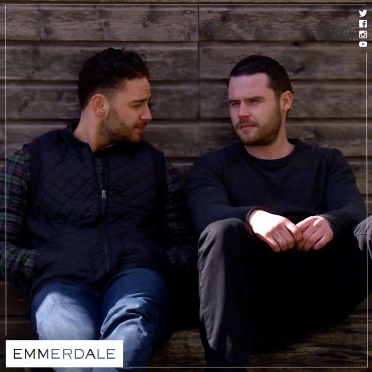 Adam Barton (Adam Thomas) & Aaron Livesy (Danny Miller) (Sometime in 2015)